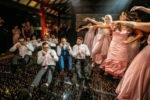 Renan Radici, of Rio Grande do Sul, is a wedding photographer for