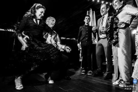 Festa de casamento na de floriana em ponferrada espanha fora da fotografia de festa