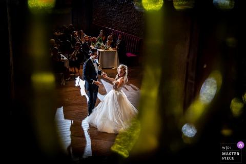 City Winery, Chicago, local do casamento, fotografia da primeira dança