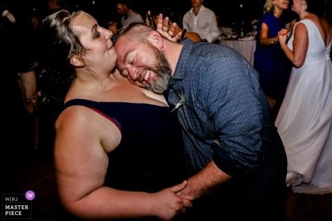 Fotos do casamento no local da recepção - França | Fotógrafo: Cansado ou amante?