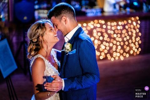 Zakynthos, Grèce image de réception de mariage de la première danse