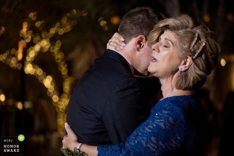 Arizona Desert Botanical Garden photo du lieu de mariage - mère de la danse du marié