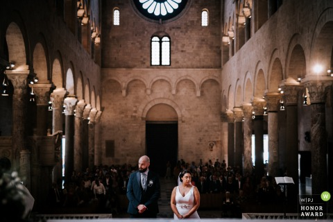 Marco Colonna, of Taranto, is a wedding photographer for -