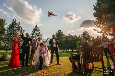Boni Bonev, of Sofia, is a wedding photographer for