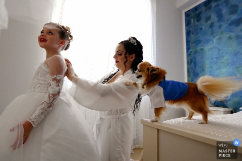 Danilo Coluccio, of Reggio Calabria, is a wedding photographer for