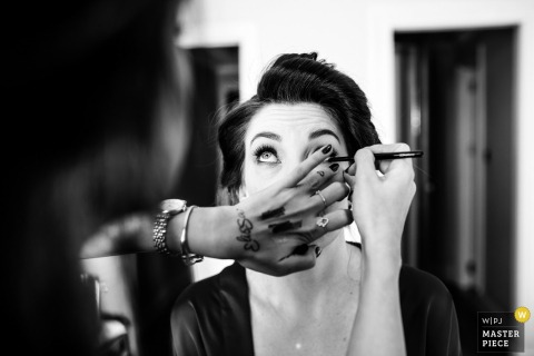 Pera Palace Hotel make up before the wedding ceremony | Photography of the Bride