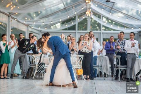 Domaine du Kaegy - Steinbrunn le Bas - Alsacia Primera foto de boda con baile