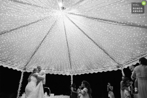 IT wedding photo from Hotel dei Giardini, Nerviano of the dancing with the bride