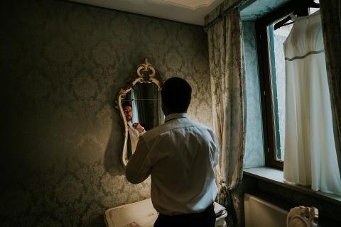 Valeria Berti, of Padova, is a wedding photographer for