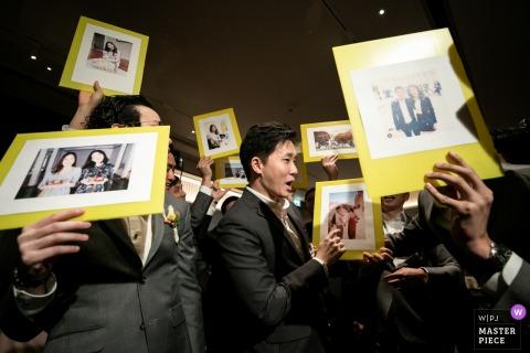 Immagine del gioco del matrimonio degli sposi dal Waldorf Astoria Bangkok