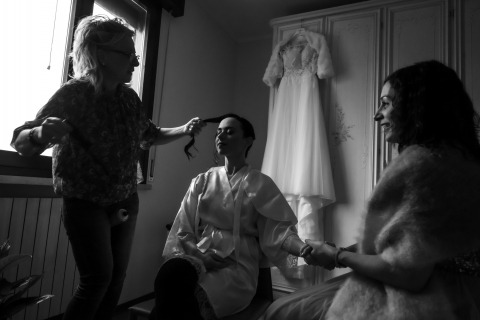Fabrizio Demasi, of Mantova, is a wedding photographer for