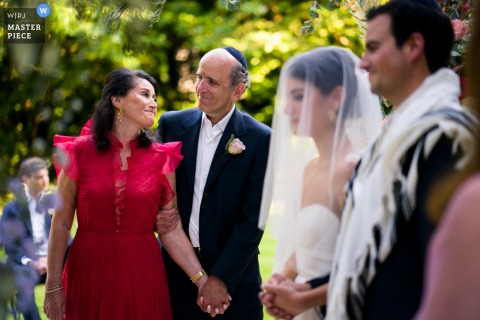 Hampstead Garden Suburbs wedding ceremony during COVID 19