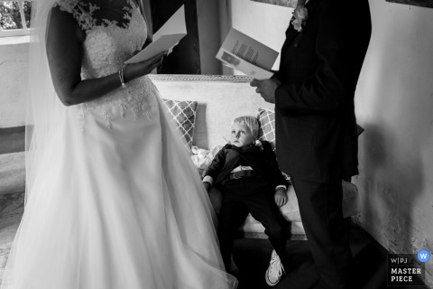 Wedding photography from a Netherlands ceremony - Vows.... it really takes too long