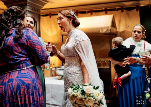 Photographie de mariage de Limerick du lieu de réception de Munster de quelques potins juteux pour la mariée