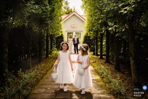 Un photographe de mariage à Dublin a capturé cette arrivée de Cork, en Irlande