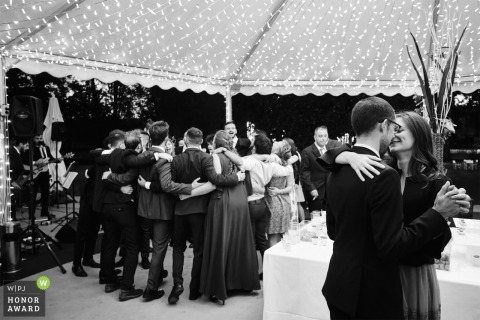 IT wedding photography from the Hotel dei Giardini, Nerviano - ITALY	On the dance floor