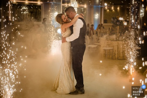 Gotse Delcheve best wedding photography from Hotel Baroto showing a pic ofa Bulgaria First Dance