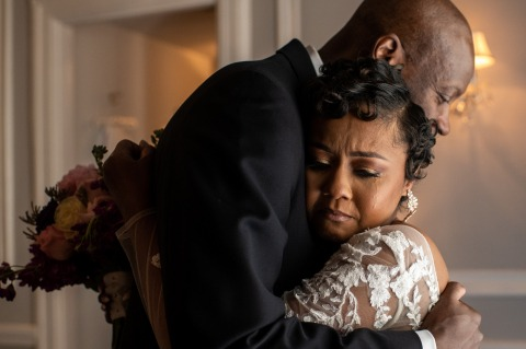 Kenneth Clapp, del Maryland, è un fotografo di matrimoni per