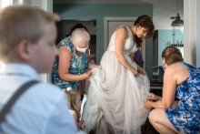 Lori Anne Crewe, of Ontario, is a wedding photographer for