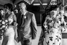 Hollie Mateer, of East Riding of Yorkshire, is a wedding photographer for