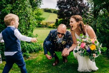 Jenny Rutterford, of West Sussex, is a wedding photographer for
