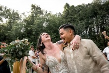 Frances Morency, of Ontario, is a wedding photographer for