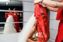 Nilufer Nalbantoglu, of Istanbul, is a wedding photographer for
