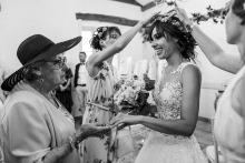 Nadine Court z, jest fotografem ślubnym dla