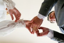 戈亚斯州的克劳迪亚·阿莫林(Claudia Amorim)是一位婚礼摄影师