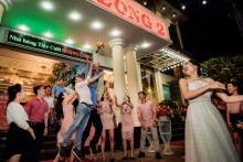 的Nien Truong是的婚禮攝影師