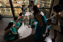 馬德里的Miguel Onieva是一位婚禮攝影師
