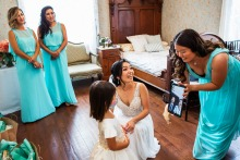 加州的Chris Shum是一位婚禮攝影師