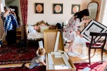 Annie Kheffache, de Dublín, es fotógrafa de bodas para
