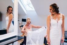 Jenny Rutterford, uit West Sussex, is een huwelijksfotograaf voor
