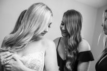 Stephanie Secrest, uit Californië, is een trouwfotograaf voor