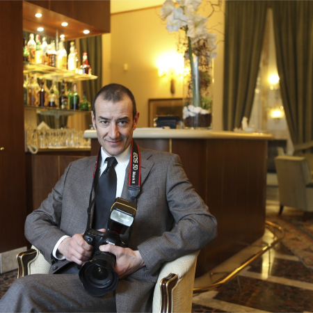 Lodi, Lombardka, fotoreporter ślubów, Giuseppe Arrighi.