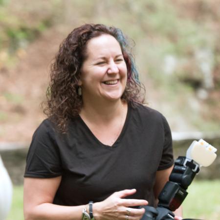 Michelle M. Peters, eine WPJA-Hochzeitsfotografin aus PA, konzentrierte sich schon früh auf ihre kreative Seite.