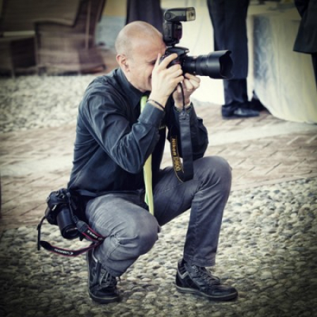 Massimiliano Beccati is working as a photographer, especially for weddings.