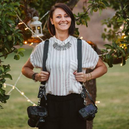 Retrato del fotógrafo de reportes de boda de Londres Slawa Walczak - Inglaterra y Reino Unido