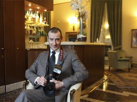 Lodi, agent de notification de photo de mariage en Lombardie, Giuseppe Arrighi.