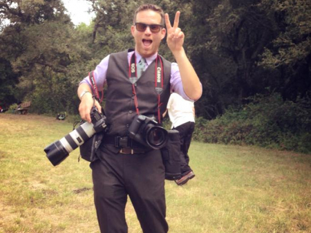 Retrato de Douglas Zimmerman, fotógrafo de bodas