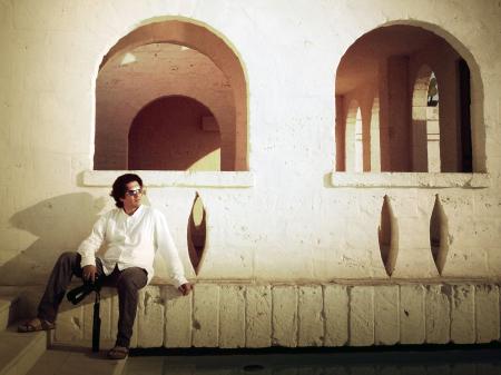 Warm-toned portrait of marriage image creator, Nicola Cipriani