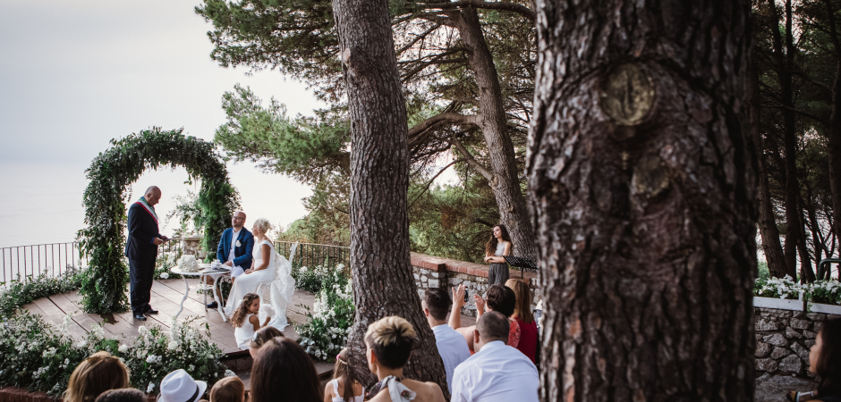 Capri Island - Italy Elopement Ceremony Photography by Alessandro Arena