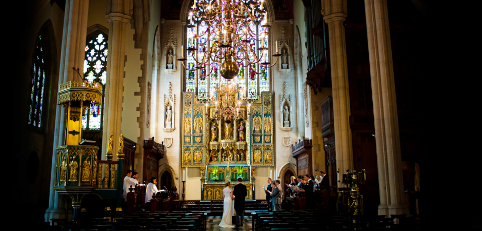 All Saints Church, London Wedding Photos by: David Pullum