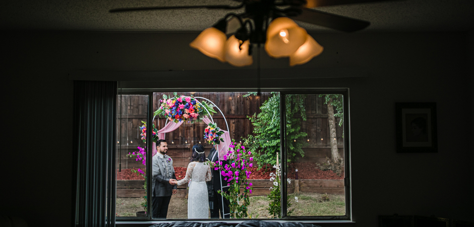 Antioch, California Backyard Elopement Photography by: Tyler Vu