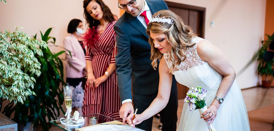 Sofia, Bulgaria wedding ceremony photography by Bozhidar Krastev
