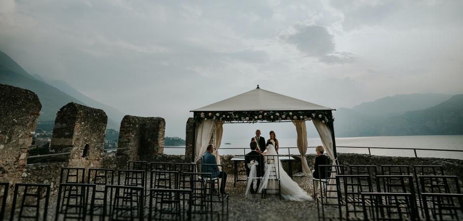Lake Garda, IT Wedding Photography Story by: Valeria Berti