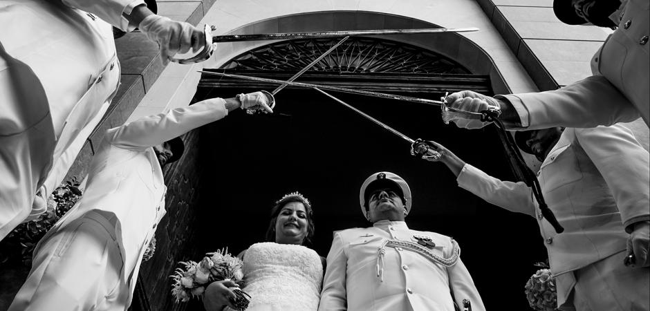 Spanien Militär Hochzeitsfotograf - Eduardo Blanco
