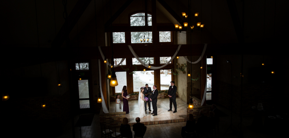 Estes Park, CO Wedding Ceremony Image from Lucy Schultz