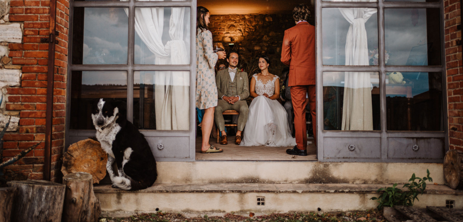 Wedding Picture at Agriturismo il Rigo, Siena, Italy by Elopement Photographer Federico Pannacci